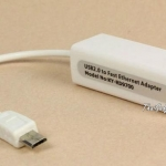 สาย Micro USB to RJ45 10/100M Ethernet Network Adapter สำหรับ Samsung Tablet PC