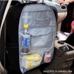 กระเป๋าใส่ของหลังเบาะรถยนต์ (สีเทา)