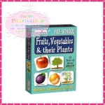 """จิ๊กซอว์จับคู่ภาพ """"Fruits,Vegetables&Their Plants """""""