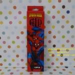 ดินสอ HB สไปเดอร์แมน Spiderman แพ็ค12 แท่ง