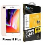 Focus ฟิล์มกระจกนิรภัยแบบใส iPhone 8 Plus