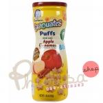 ขนมสำหรับเด็ก Gerber Graduates Puffs Cereal Snack, Apple Cinnamon รสแอปเปิล ซินนามอล