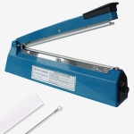 เครื่องซีลไฟฟ้าแบบกด ยาว 300 mm. สำหรับถุงพลาสติก PPและ PE 1608-116