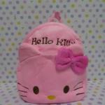 กระเป๋าเป้สะพายหลังใบเล็กจิ่ว ฮัลโหลคิตตี้ Hello kitty#2 ขนาด กว้าง 5 ซม * ยาว 22 ซม * สูง 22 ซม สำหรับเด็กเล็ก 2-3 ขวบ