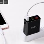 Hoco C15 Adapter 3 USB + LED