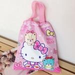 กระเป๋าถุงหูรูด คิตตี้ kitty#1 ขนาดยาว 29.5 ซม. * สูง 32.5 ซม.