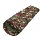 ถุงนอนแคปปิ้ง ถุงนอนกันหนาว ถุงนอนพกพา สำหรับผู้ใหญ่ (สีลายพรางทหาร)
