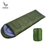 ถุงนอนแคปปิ้ง ถุงนอนกันหนาว ถุงนอนพกพา (สีเขียวทหาร)