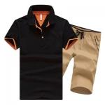 Pre Order ชุดเซ็ท2ชิ้น เสื้อโปโล แขนสั้นสีพื้น+กางเกงขาสั้นเข้าชุดกัน มี5แบบ