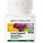 NUTRILITE Liver Support (Milk Thistle and Dandelion Extract) ล้างพิษตับ บำรุงตับ ดีท๊อกซ์ตับ Amway USA