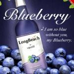 LongBeach ฺBlueberry กลิ่นบลูเบอรี่ ขนาด 730 ml.