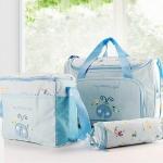 กระเป๋าสัมภาระคุณแม่ Mother Care (สีฟ้าแมลงเต่าทอง)