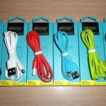 Eloop Data Cable For iPhone / iPad สายแบน