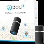 POD Tracker 3 GPS Tracker ค้นหาสัตว์เลี้ยงสำหรับแมวและหมา