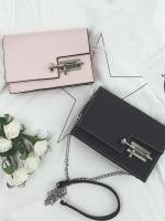 Pre Order กระเป๋าแฟชั่นเกาหลี ดีไซน์สวยเรียบหรู สายโซ่ มี 4 สี