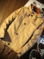 Pre Order เสื้อแจ็ตเก็ตผู้ชาย แขนยาว มี Hood แฟชั่นเกาหลี มี 5 สี