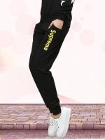 Pre Order กางเกงวอร์มขายาว ออกกำลังกาย ขาจั้ม สกรีนลาย Supreme มี 4 สี