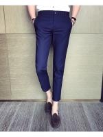 Pre Order กางเกงผู้ชายแฟชั่นเกาหลี ขายาวคลาสสิคสุดเนี๊ยบ มี2สี