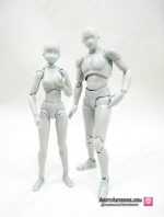 [*แพ็กเซ็ต] SHF SHF Body-kun & Body-chan DX SET Gray Color Ver.