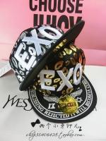 Pre Order หมวกแฟชั่นเกาหลี สไตล์ Hip Hop ลาย EXO มี2สี