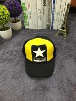 **พร้อมส่ง** หมวกแฟชั่นเกาหลี ทรงHipHop สกรีนลาย started ด้านหลังปรับขนาดได้