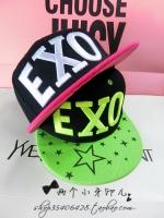 Pre Order หมวกแฟชั่น Hip Hop EXO สไตล์เกาหลี มี2สี