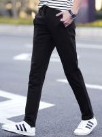 Pre Order กางเกงวอร์มสปอร์ตแฟชั่นเกาหลี ขายาวเอวยางยืด มี4สี