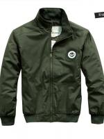 Pre Order เสื้อแจ็คเก็ตสรีนลายสุดเท่ห์ แขนยาว มีกระเป๋าด้านข้างและด้านใน สามารถกันน้ำได้ มี2สี