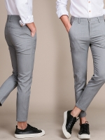 Pre Order กางเกงผู้ชายแฟชั่นเกาหลี ขายาวมีกระเป๋าสองข้างสุดคลาสสิค มี2สี