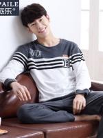 ชุดนอนเกาหลี SWITCH เสื้อแขนยาว+กางเกงขายาว มี2สี