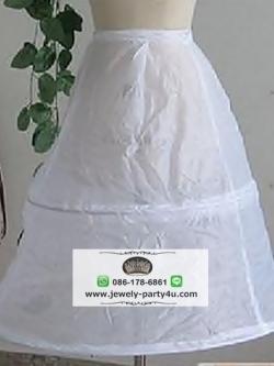 สุ่มกระโปรงสำหรับใส่ด้านในชุดแต่งงาน/ชุดราตรีเด็ก