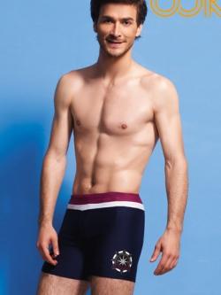 กางเกงว่ายน้ำชายเกาหลี ขาสั้น แต่ลายขอบเอว ดีไซส์โลโก้ มี3ลาย