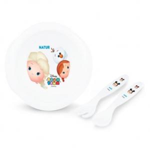 Disney feeding set ชามช้อนดิสนีย์