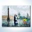 รหัส HB3040090 ภาพระบายสีตามตัวเลข Paint by Number แบบ Eternal moment ขนาด30x40cm/พร้อมส่ง thumbnail 1