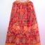 กระโปรงเอวยางยืด ยาว 40 นิ้ว Elastic Skirt Thai Sarong thumbnail 6