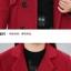 PreOrderคนอ้วน - เสื้อโค้ทกันหนาว ไซส์ใหญ่ เสื้อขนสัตว์ สีแดง thumbnail 5