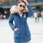 PreOrder - เสื้อกันหนาวแฟชั่นเกาหลี ข้างในเป็นขนสัตว์ มีHood ขนเฟอร์ สี : ดำ / แดง / เขียวทหาร / เขียวอ่อน / น้ำเงิน / ชมพูอ่อน / ส้ม / ชมพูเข้ม thumbnail 6
