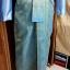 ผ้าไหมสังเคราะห์ทอเครื่อง ตัดชุดโทนสีฟ้าและน้ำเงิน thumbnail 17