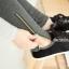 PreOrderคนอ้วน - กางเกง-เลคกิ้งกันหนาวแฟชั่น ไซส์ใหญ่ คนอ้วน กางเกงขายาวผ้าฝ้าย ซิบข้าง ข้างในเป็นผ้ากำมะหยี่ สี : เทาเข้ม / ดำ thumbnail 3