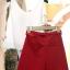 PreOrderไซส์ใหญ่ - เซตคู่แฟชั่น ไซส์ใหญ่ คนอ้วน เสื้อแขนกุดปักริมฝีปากสีแดง กางเกงขาสั้นเข้าชุด thumbnail 4