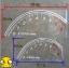 สติ๊กเกอร์ไมล์ สะท้อนแสงได้ด้วย3cm ขนาด 30×60 cm thumbnail 3