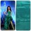 ผ้าไหมสังเคราะห์ทอเครื่องสีพื้น Plain Synthetic Silk thumbnail 8