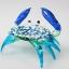 ปูแก้วเป่า Glass Figurine Crab thumbnail 4