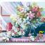 รหัส HB4050169 ภาพระบายสีตามตัวเลข Paint by Number แบบ Good morning ขนาด40x50cm/พร้อมส่ง thumbnail 1