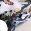 PreOrderไซส์ใหญ่ - ชุดเซตคู่เสื้อ+กระโปรง ไซส์ใหญ่ คนอ้วน เสื้อแขนกุ๊ดคอกลมปักผีเสื้อหน้าอก กระโปรงสั้นพิมพ์ลายมีซับ thumbnail 9