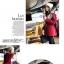 ++สินค้าพร้อมส่งค่ะ++ เสื้อ Coat เกาหลี แขนยาว มี hood เนื้อผ้าดีมาก แต่งกระเป๋าใหญ่สองข้าง ซับในด้านในอย่างดี – สีแดง thumbnail 2