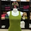 เสื้อกล้ามหลังสปอร์ต สีเขียวไพร thumbnail 2