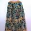 กระโปรงเอวยางยืด ยาว 40 นิ้ว Elastic Skirt Thai Sarong thumbnail 5