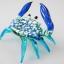 ปูแก้วเป่า Glass Figurine Crab thumbnail 2