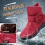 Pre Order - รองเท้ากันหนาว รองเท้าลุยหิมะ ผ้าร่มกันน้ำ ข้างในบุกำมะหยี่ อีกแบบ สูง 17cm สี : น้ำเงิน / ดำ / น้ำตาล / ไวน์แดง ไซส์ 36 / 37 / 38 / 39 / 40 / 41 / 42 thumbnail 5